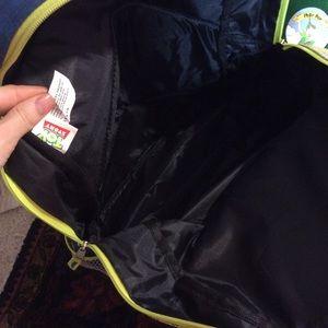 Disney Bags - Holographic Disney Buzz Lightyear Alien Backpack